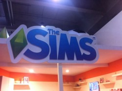 GamesWeek2013 sims stand 3